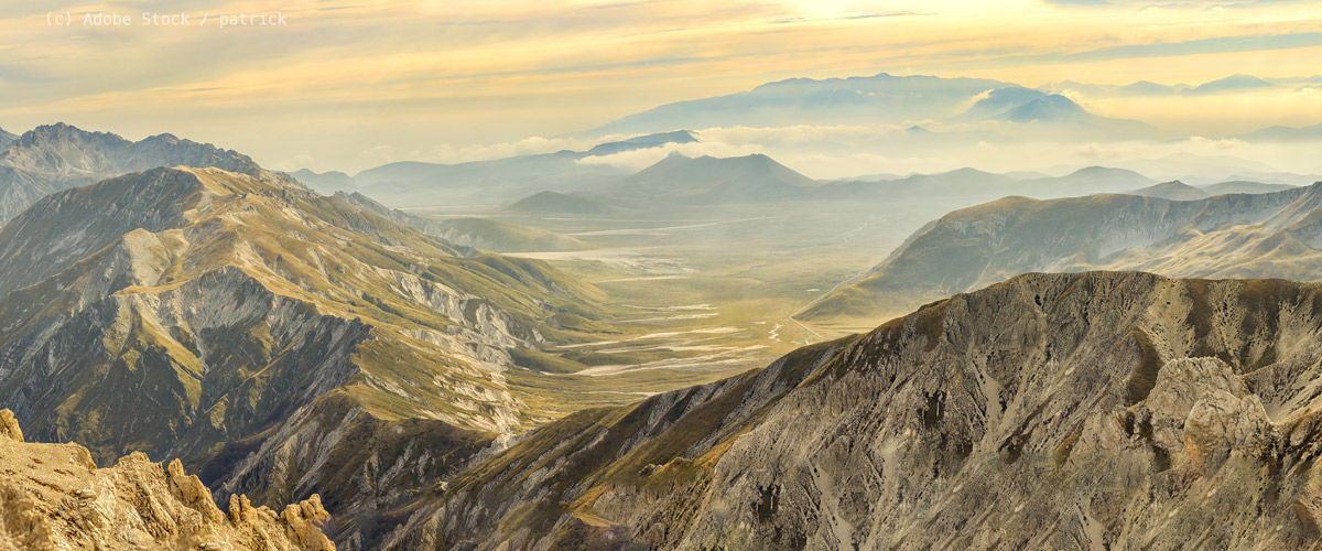 Abruzzen-Berge