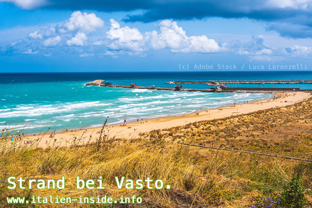 Strand-bei-Vasto-Abruzzen