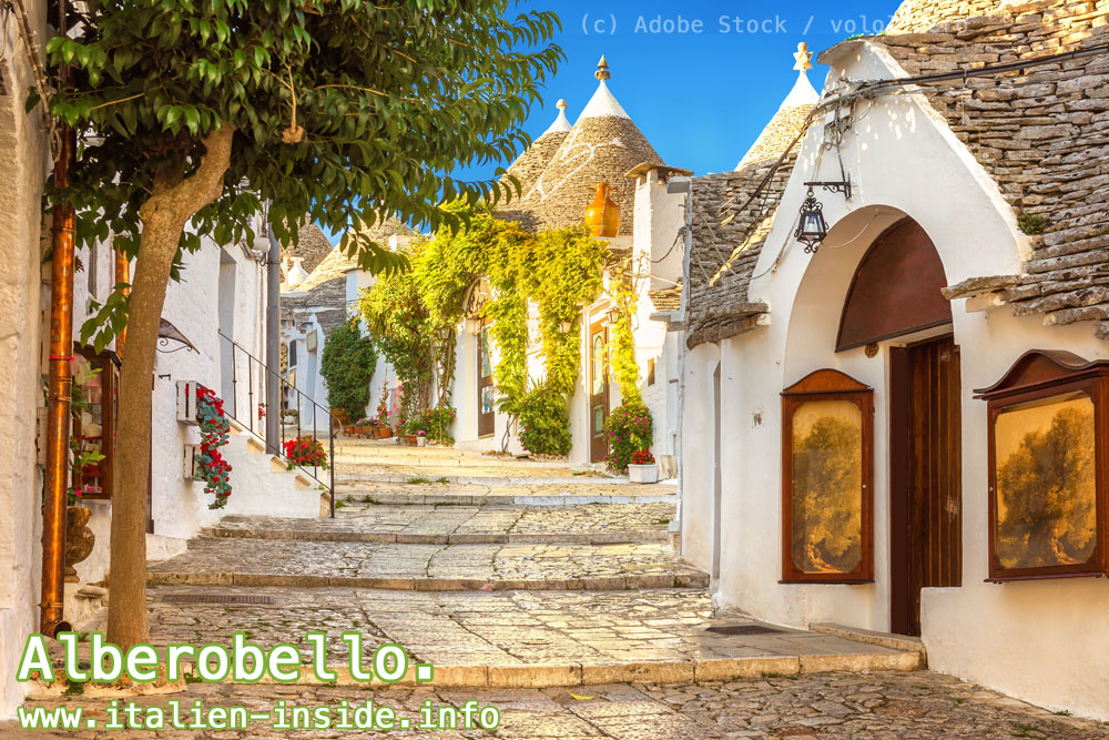 Trulli-in-Alberobello