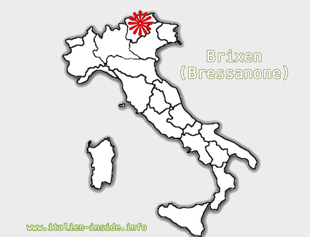Brixen-Lage-Karte