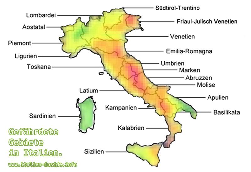 landkarte amatrice italien Erdbeben in Italien | .italien inside.info