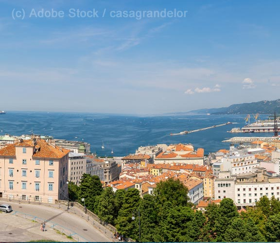 Friaul-Blick-ueber-Triest