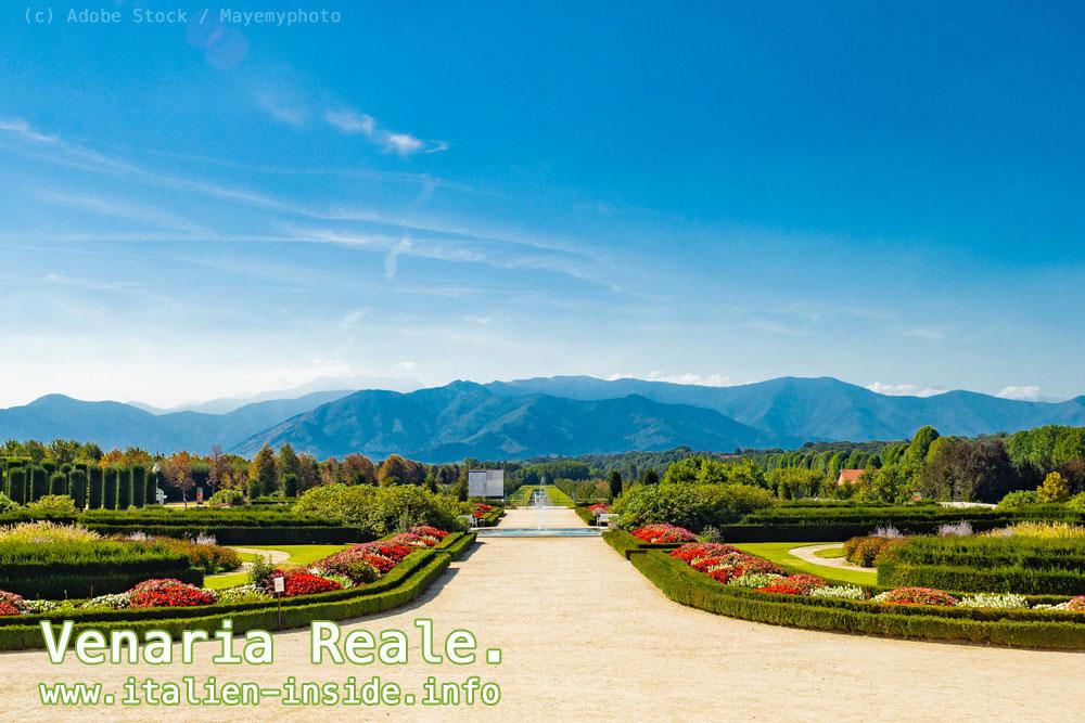 Italien-Garten-Venaria-Reale