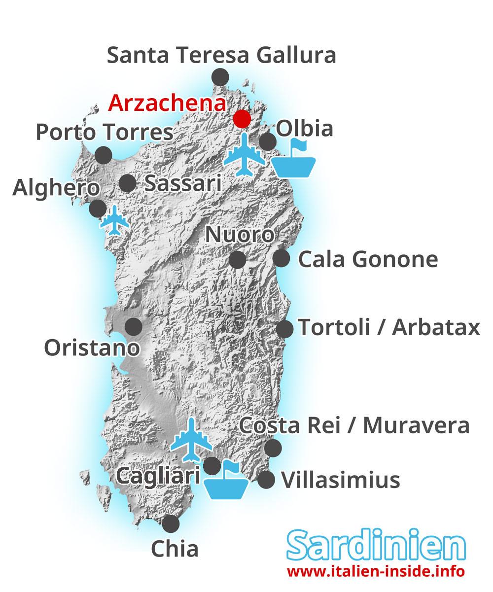Karte-Arzachena