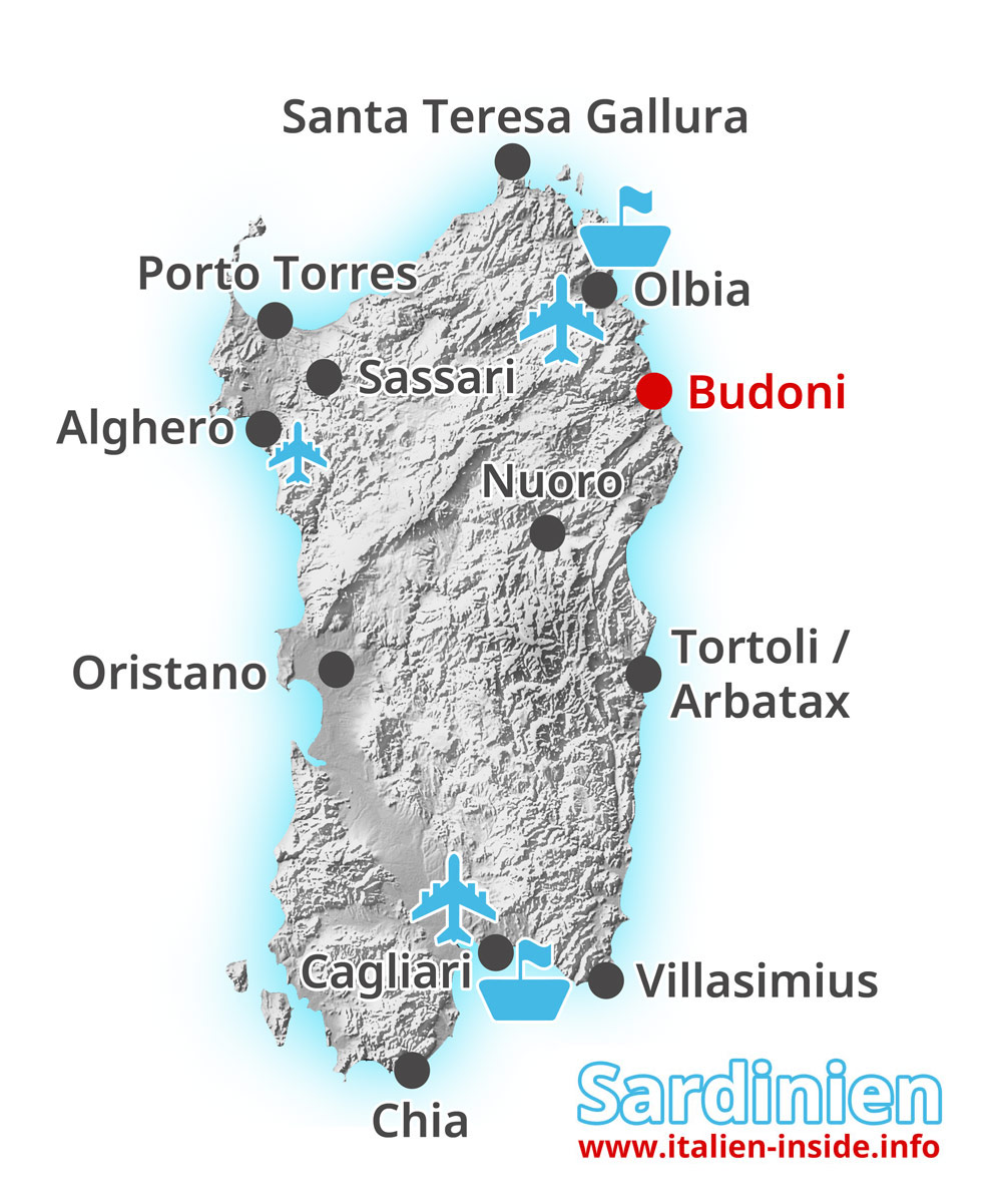 Karte-Budoni