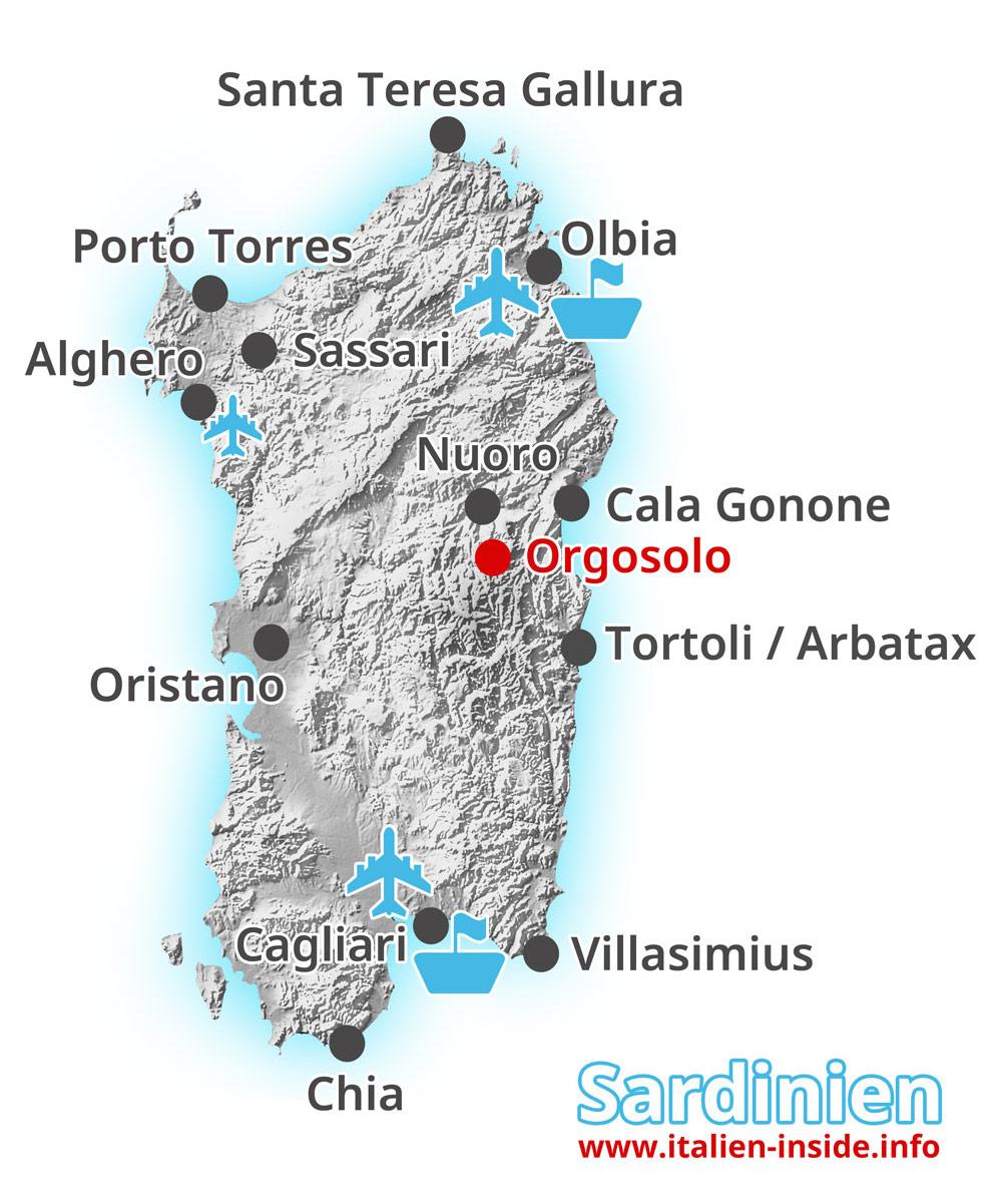 Karte-Orgosolo