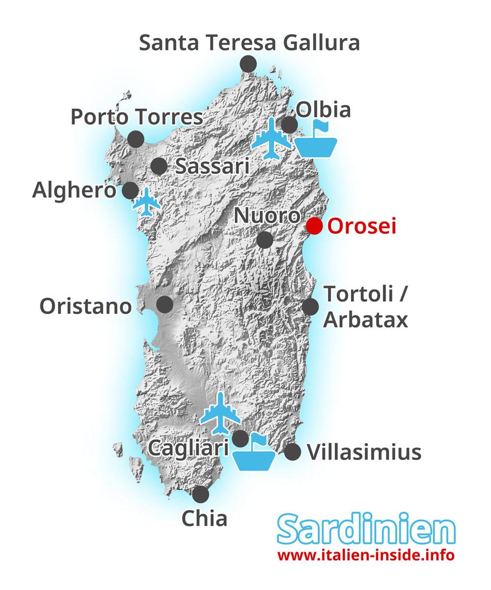Karte-Orosei