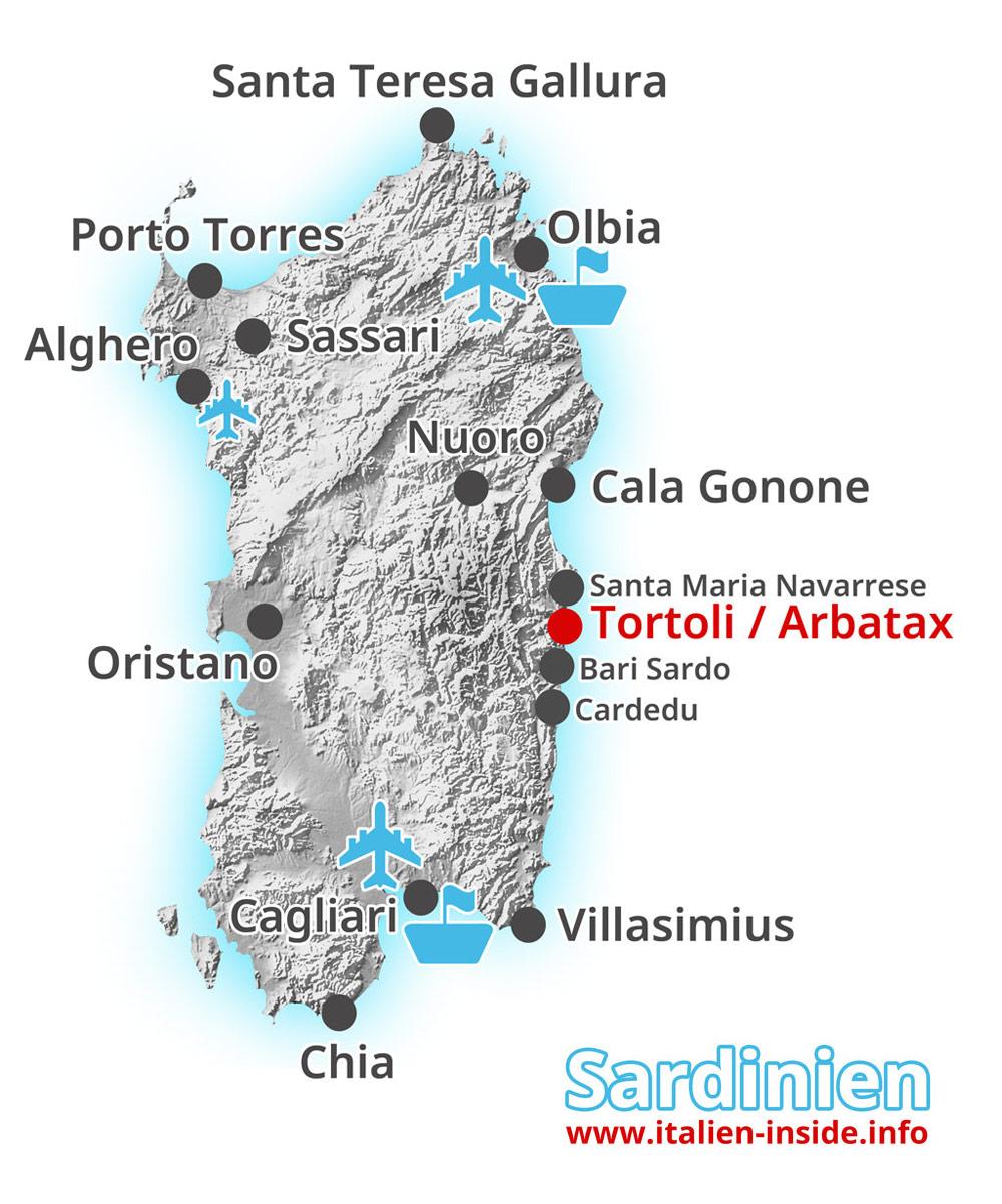 Karte-Tortoli-Arbatax