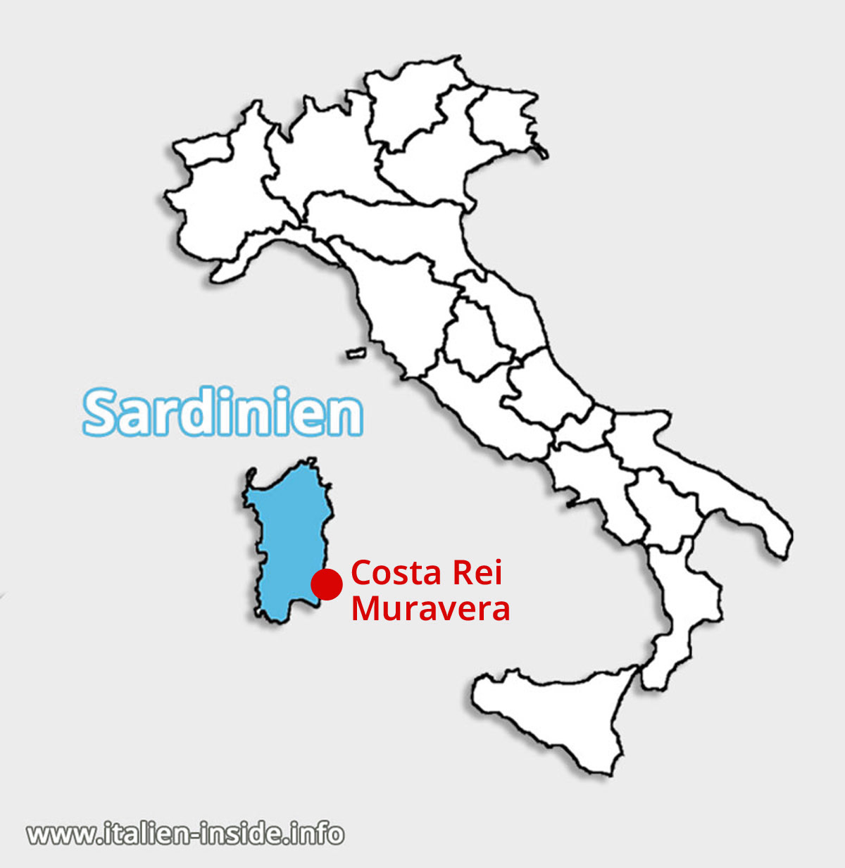 Lagekarte-Costa-Rei-Muravera-Sardinien