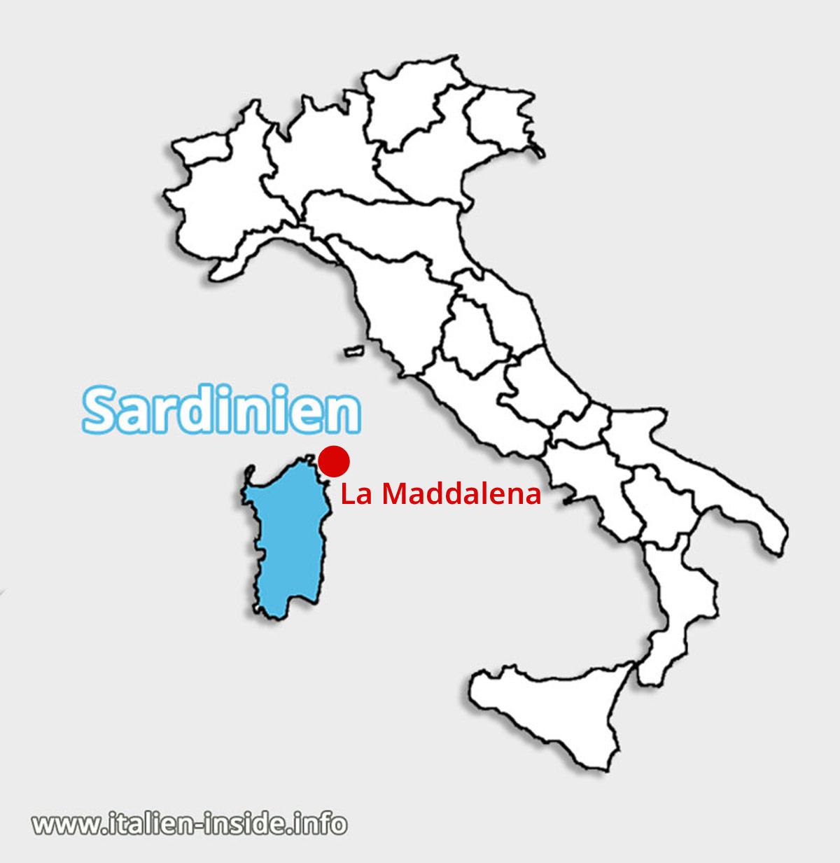 Lagekarte-La-Maddalena-Sardinien