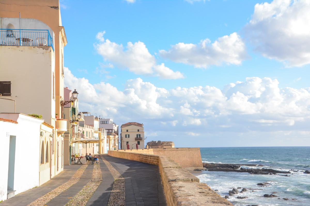 Alghero-Stadtmauer