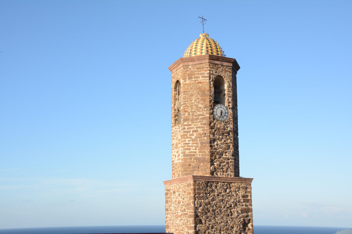 Castelsardo-Kirchturm