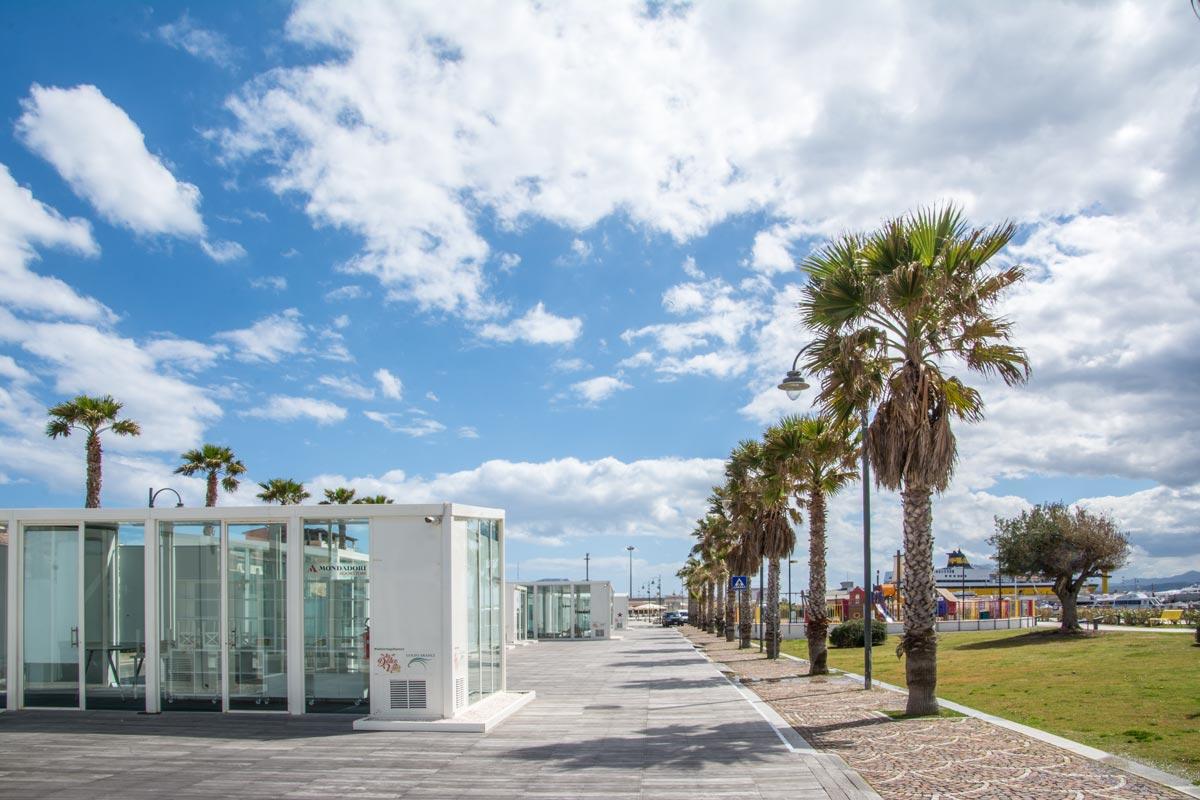 Golfo-Aranci-Uferpromenade