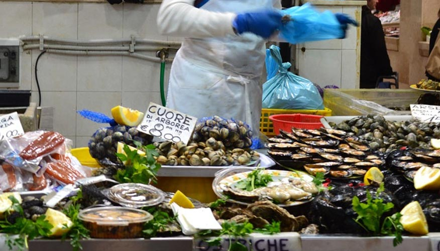 Muscheln-Austern