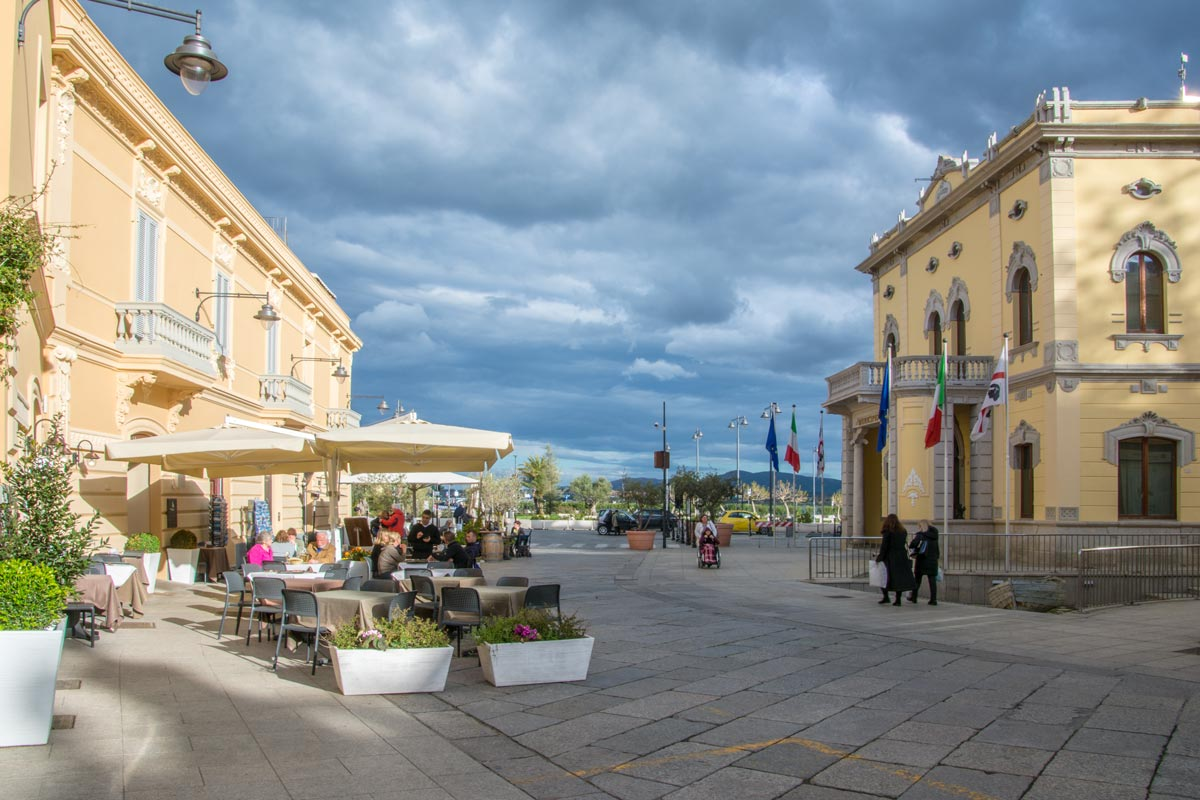 Olbia-Zentrum-Hafen