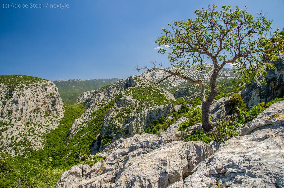 Supramonte-Landschaft