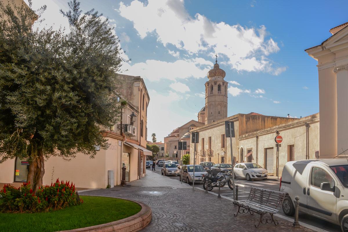 Oristano-Altstadt