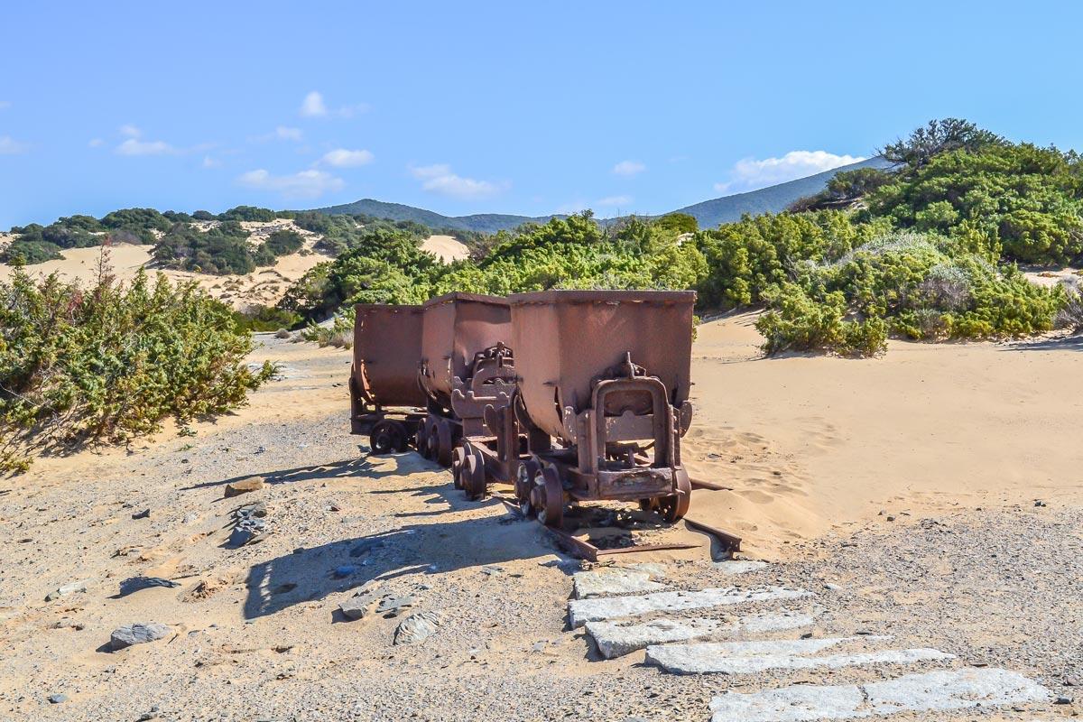 Piscinas-Bergbau