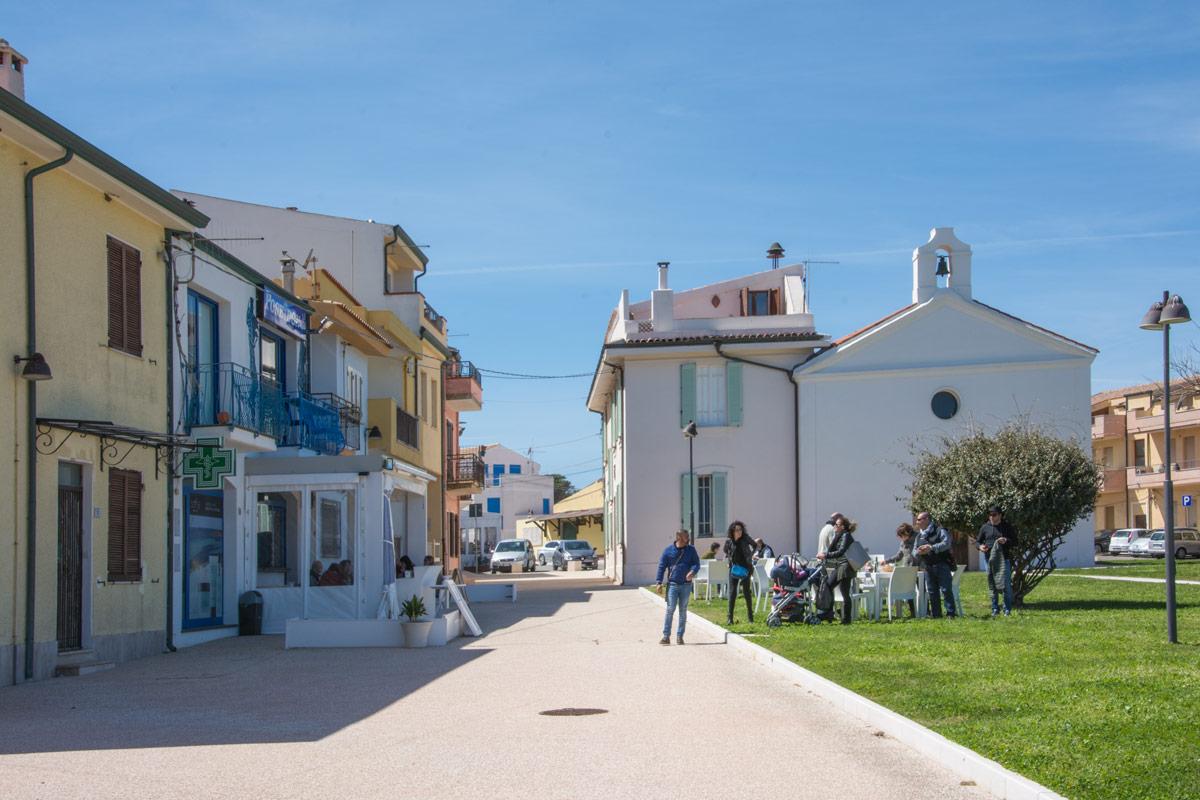 Santa-Lucia-Dorfplatz