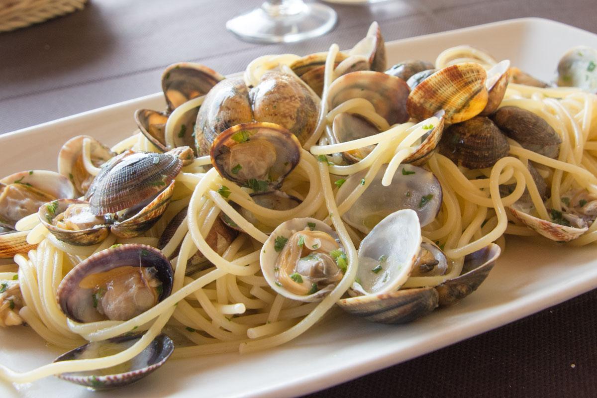 Spaghetti-mit-Muscheln