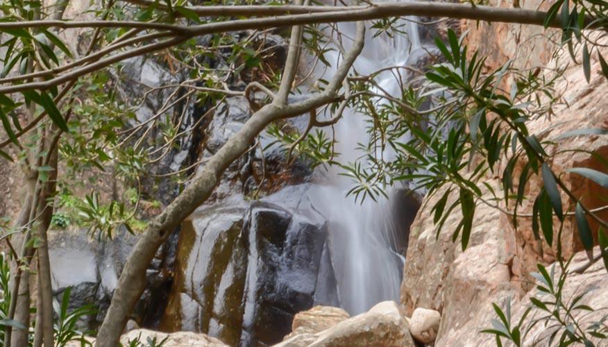 Wasserfall-Sardinien