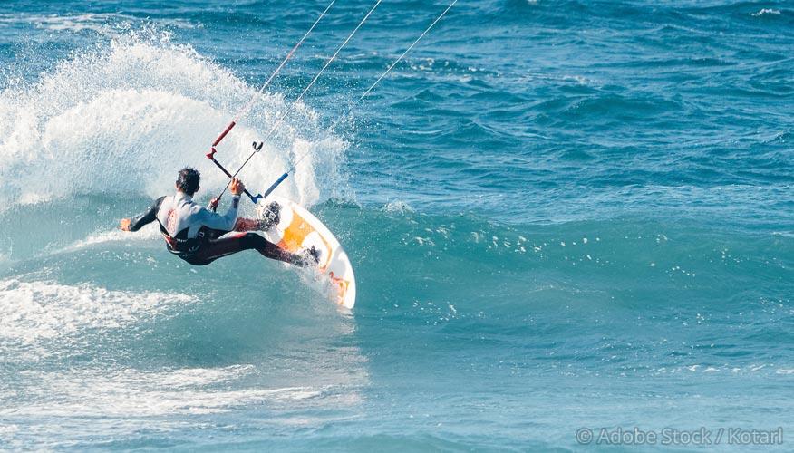 Sardinien-Surfer