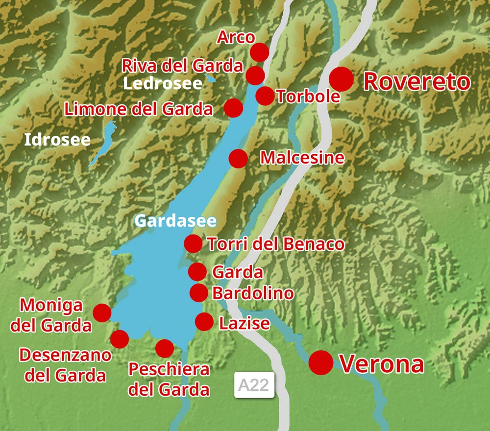 Karte-Bardolino