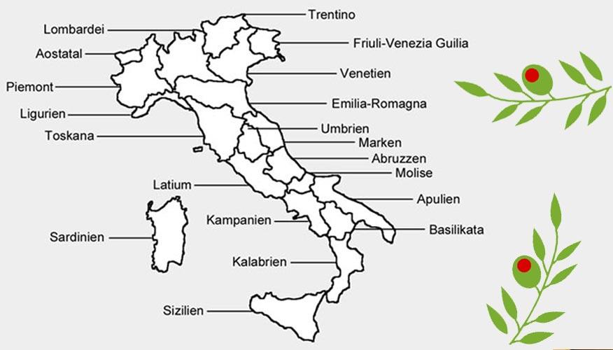 Karte-Regionen-Italien