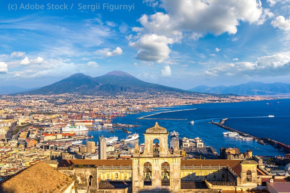 Kampanien-Neapel-Vesuv