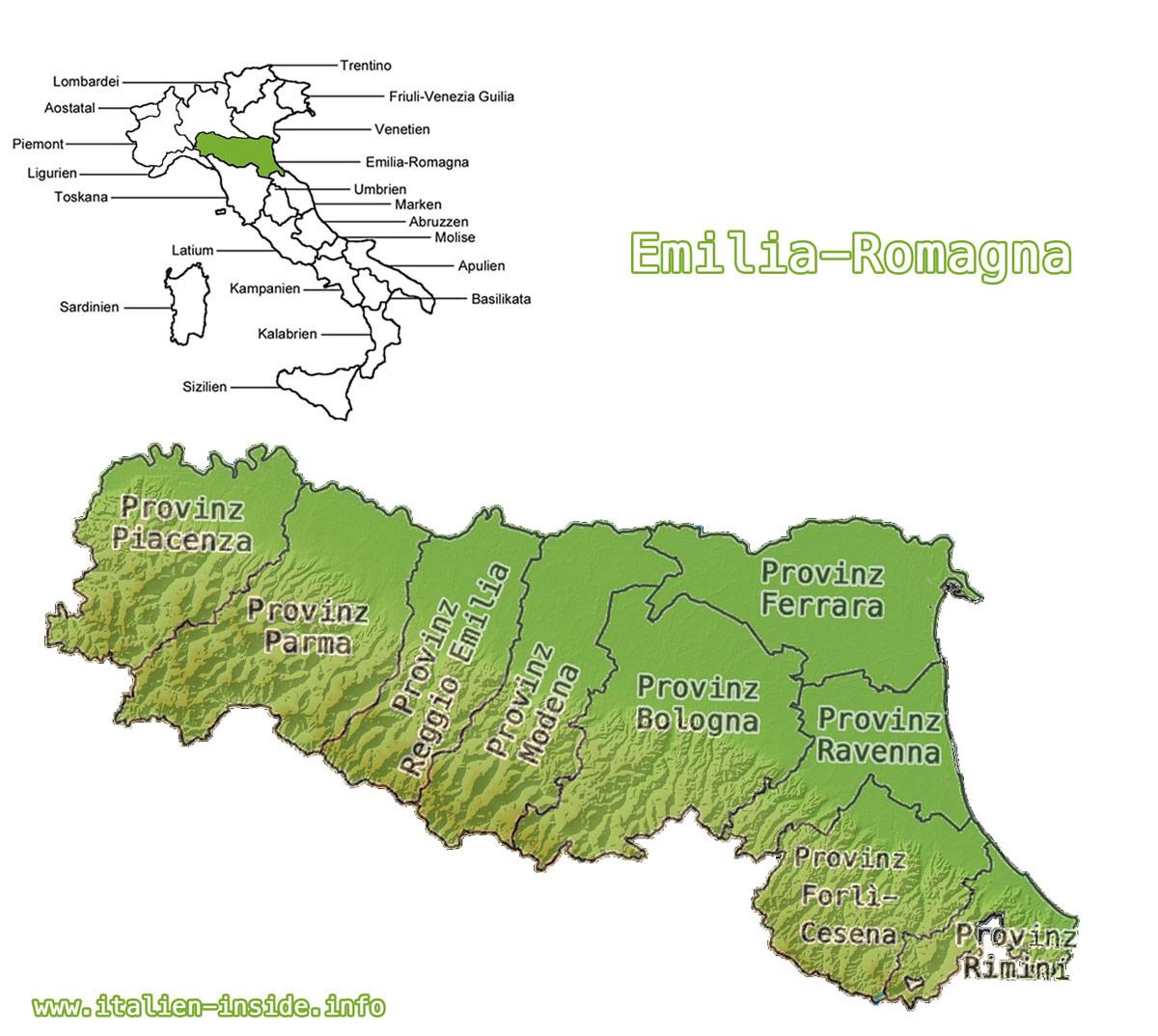 Karte-Emilia-Romagna-mit-Provinzen