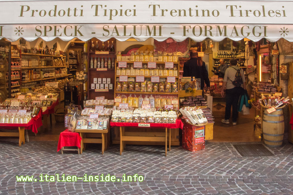 Levico-Terme-Ladengeschäft