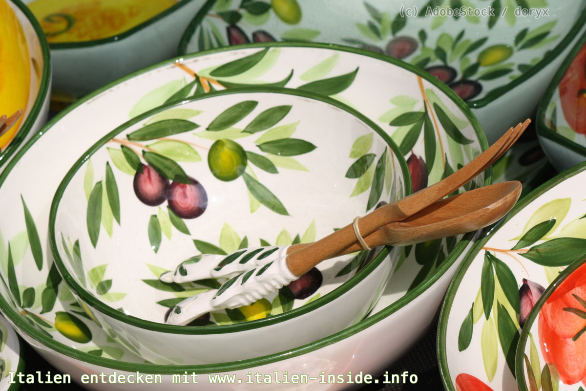 Märkte-Gardasee-Keramik