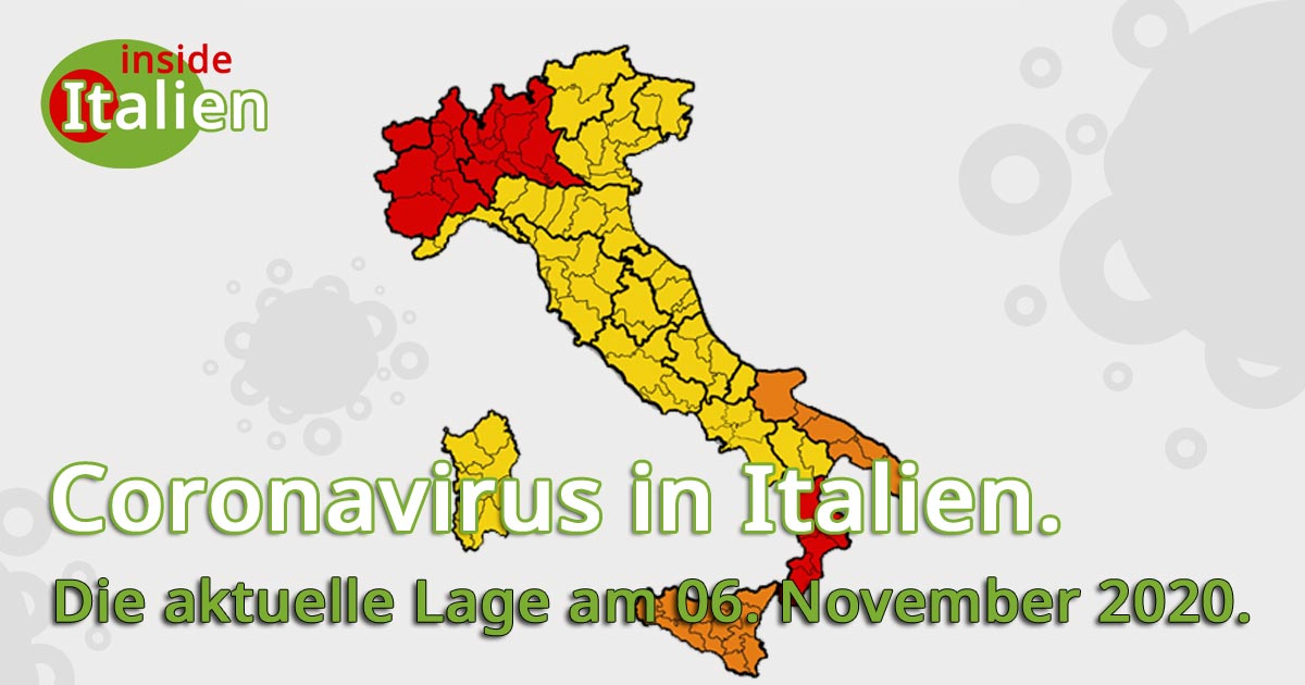 Coronavirus Italien Risikogebiete