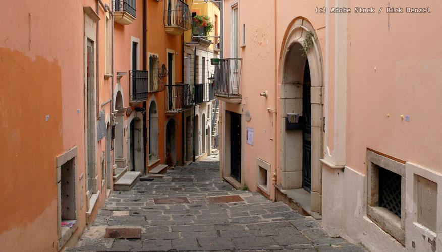 Potenza-Altstadt-Gasse