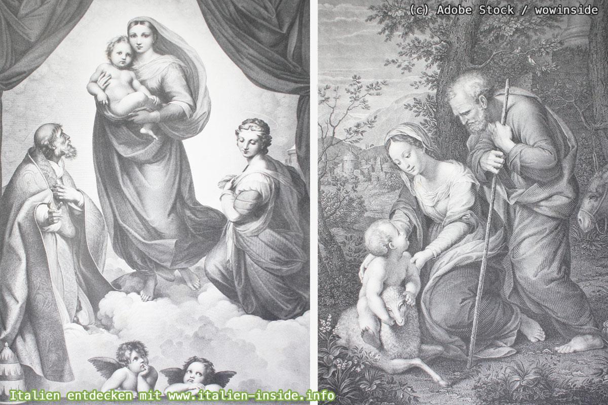 Raffael-Madonnenbilder-Sixtinische-Madonna