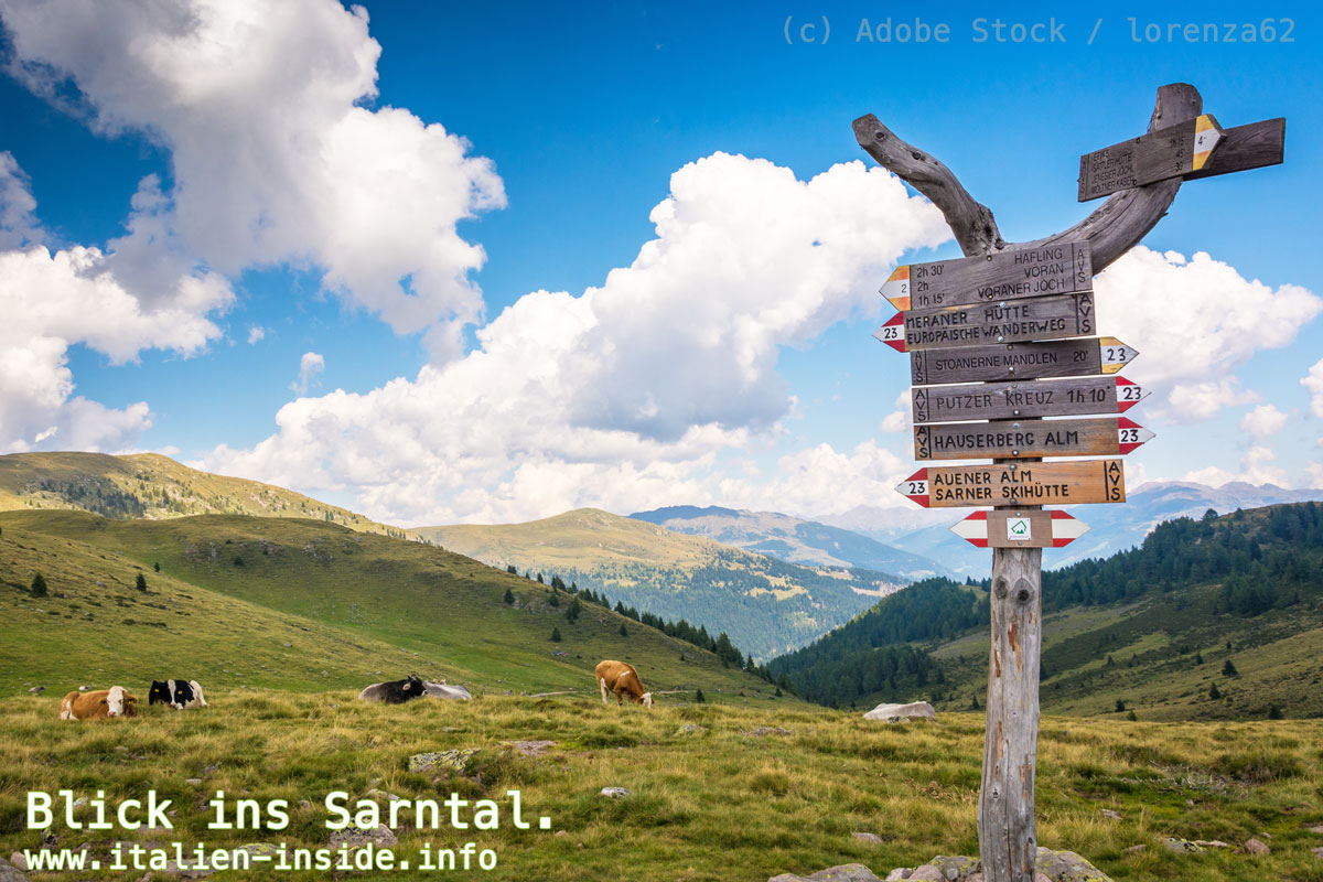 Umgebung-Sarntal-Wanderhinweise