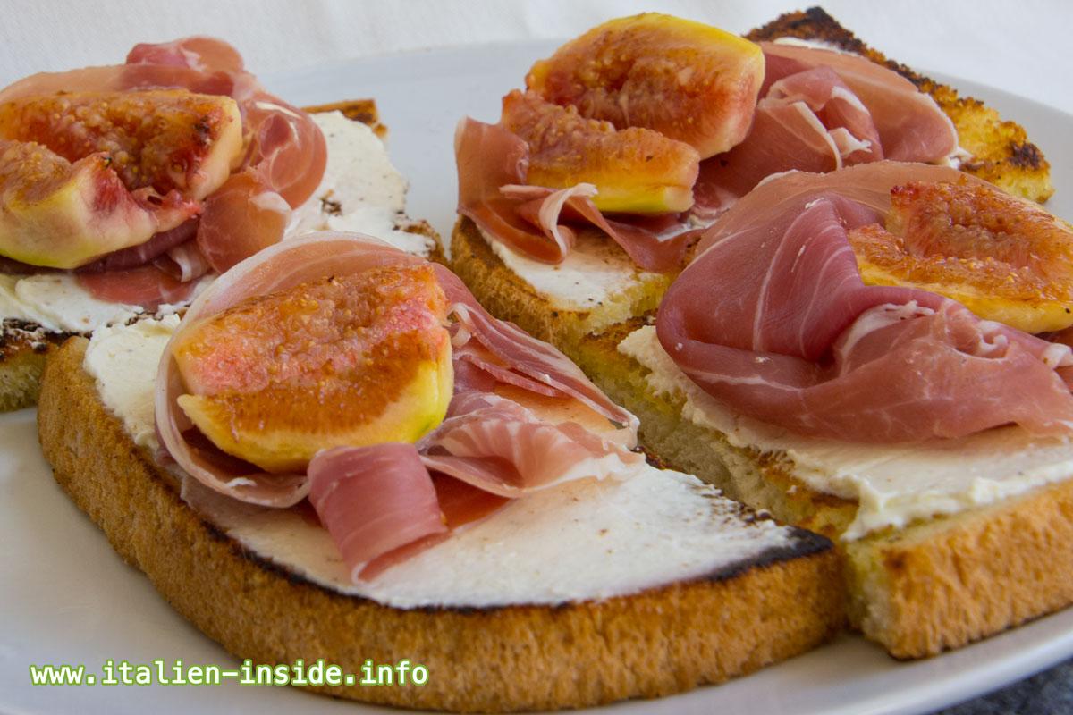 Bruscetta-Parmaschinken-Feige