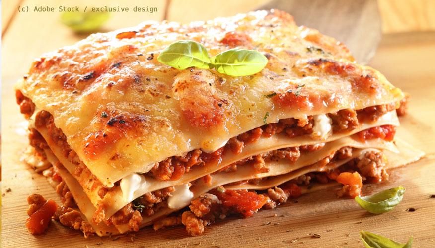 Spezialitäten-Emilia-Romagna-Lasagne