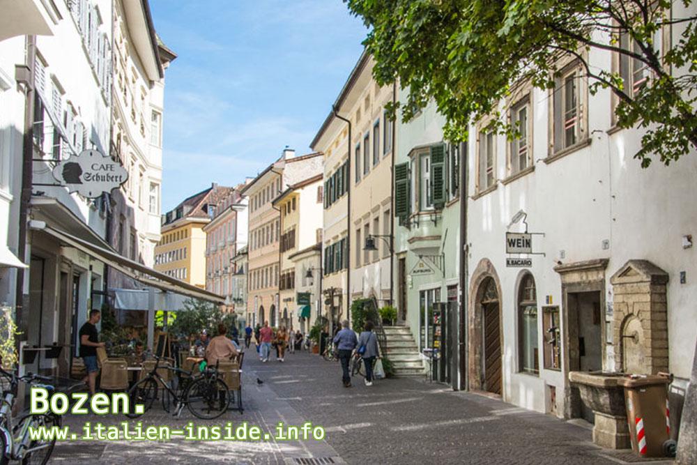 Italien-Stadt-Bozen