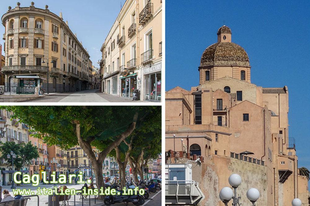 Italien-Stadt-Cagliari