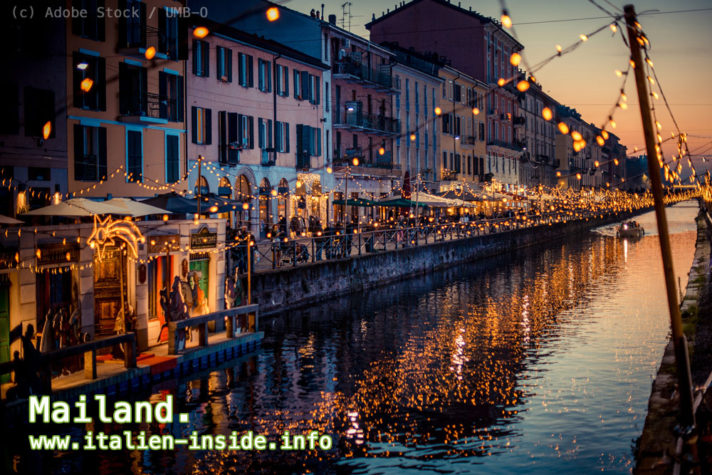 Italien-Stadt-Mailand