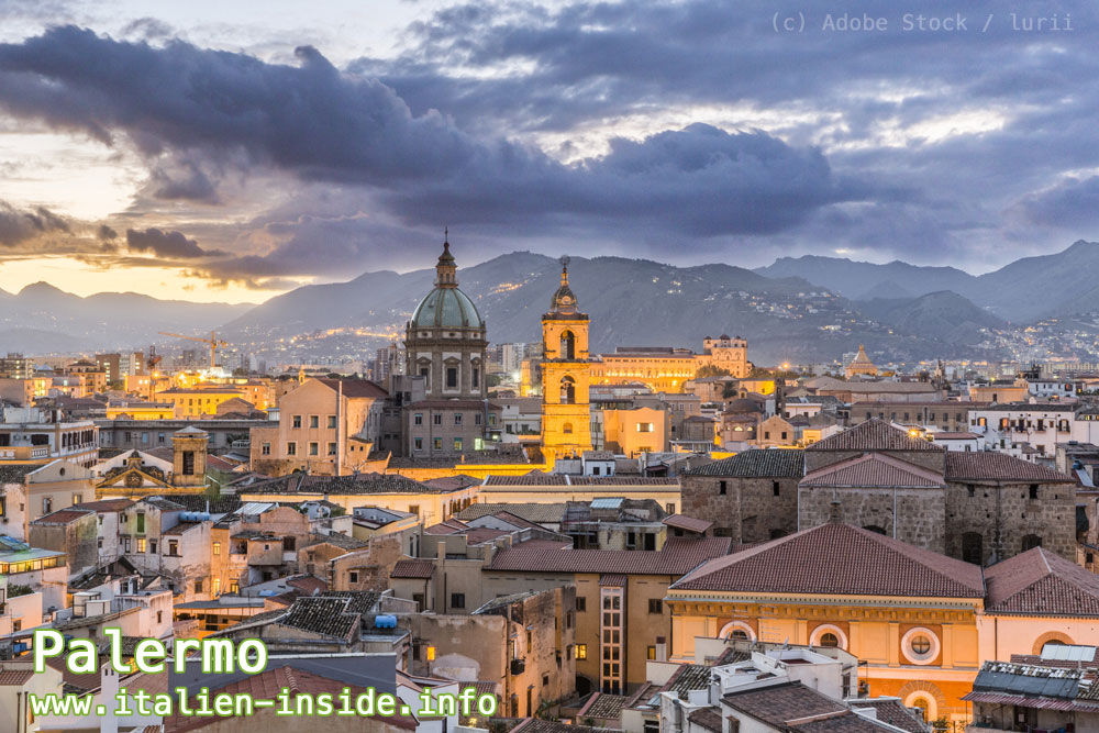 Italien-Stadt-Palermo