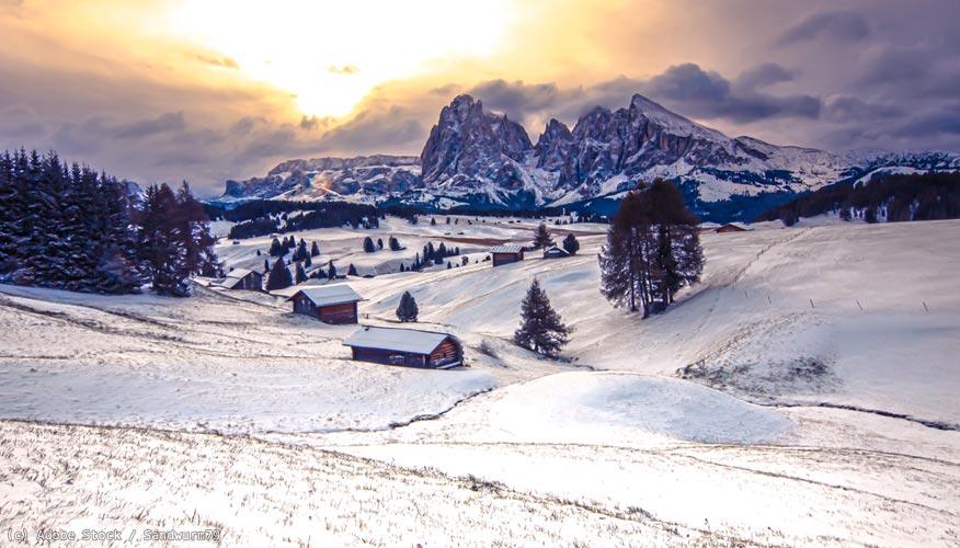 Suedtirol-Winter