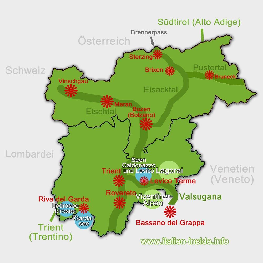 Karte-Valsugana